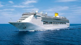 Five-star cruise ship docks in Vietnam