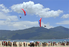 Da Nang becomes animated with summer activities