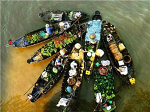 Can Tho's floating markets to be reinstated in Hanoi