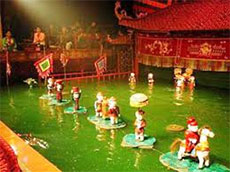 hang Long Water Puppetry Theatre earns Asian Record