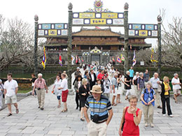 Hue moves to attract more tourists