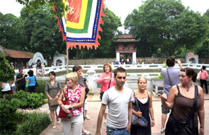 Tourist numbers to Hanoi up in first quarter