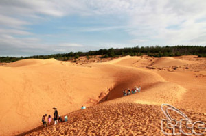 Binh Thuan lures large number of holiday-makers
