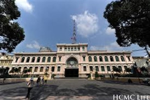 Saigon Central Post Office - an attractive destination